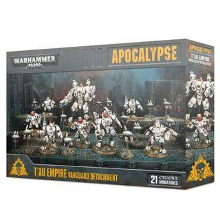 WARHAMMER 40K APOCALYPSE : T'AU EMPIRE VANGUARD DETACHMENT