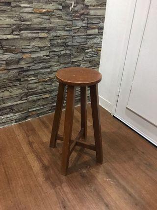Wooden Stool bar stool high chair