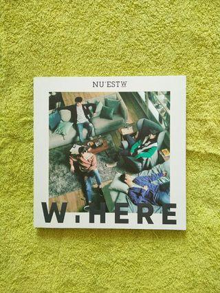 nu'est w album - W.HERE (Still life ver.)