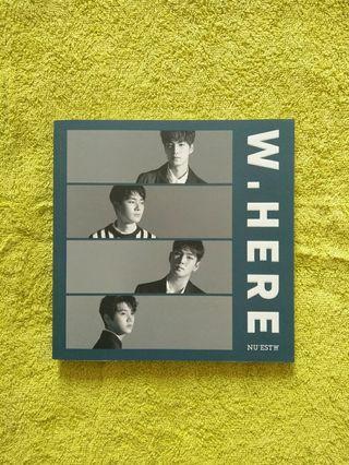 nu'est w album - W.HERE (Portrait ver.)