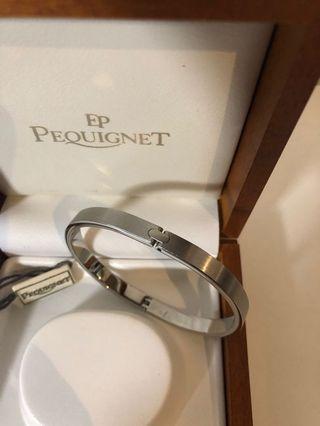 Pequignet stainless steel bracelet 名牌不鏽鋼手鐲