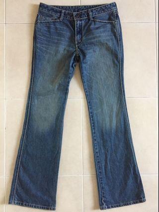 Levis Jeans 553 Ladies Size 30