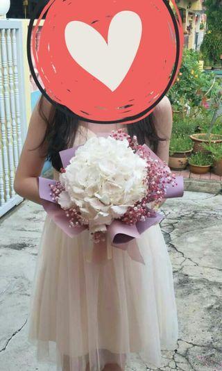 Hydrange bouquet