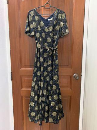 Love & Bravery Floral Maxi Dress