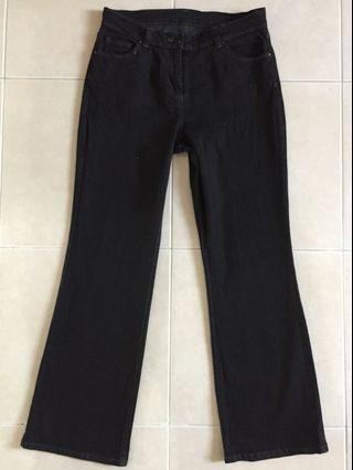 Marks & Spencer Black Jeans UK12