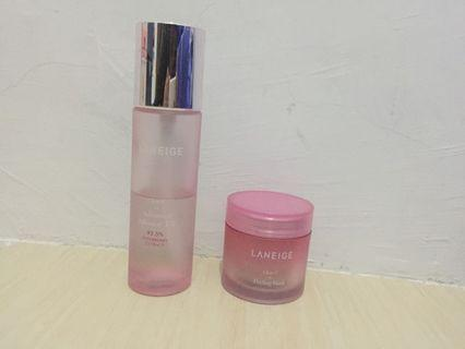 Laneige Clear C Effector and Peeling Mask