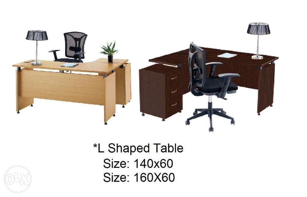 Mfc L Shaped Office Tables Desk