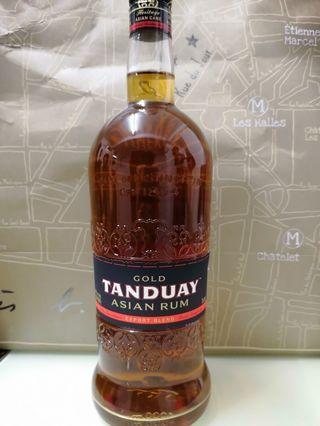 gold tanduay rum 1L