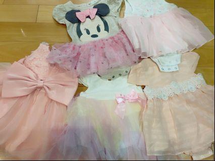 Baby girls' dresses