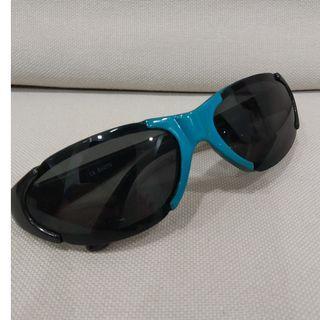 Sunglasses. Shades. Toddlers. Children. Kids.  Blue. Black.