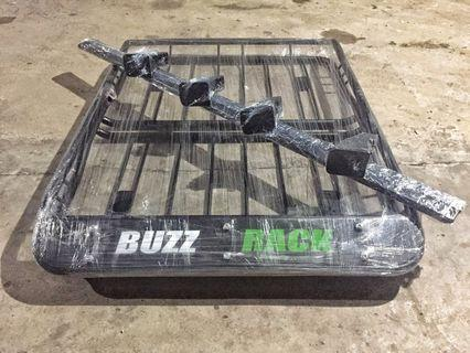 Buzzrack/ Roofrack Complete Set with Crossbar at the Lowest Price 🚀