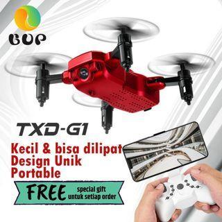 RC DRONE TXD G1 DRONE MINI CAMERA HD 2 MP DRONE RC