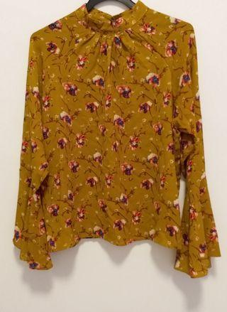 Brand New Printed Floral Top