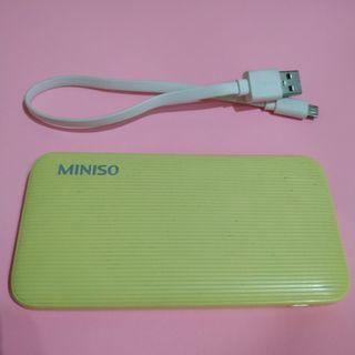 Power Bank Miniso 6000mAh powerbank