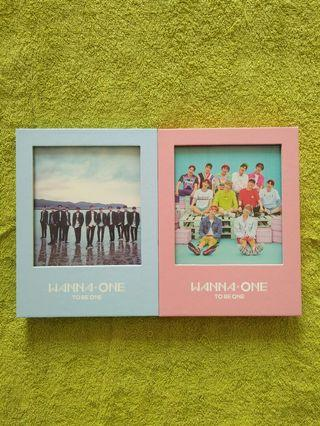 Wanna One album - To Be One