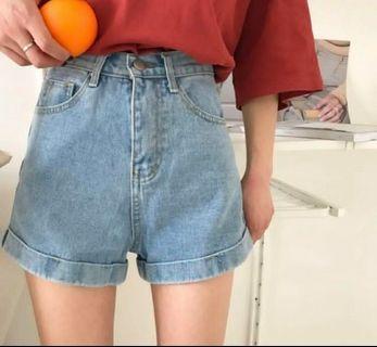 🚚 韓版牛仔短褲