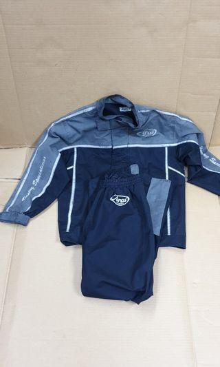 Original Arai raincoat M Size
