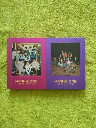 Wanna One album - Nothing Without You