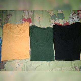 3 basic shirt all 50k