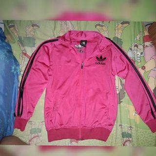Jaket adidas pink fuchia like new