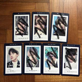 BTS 5th Muster Guestbook Card