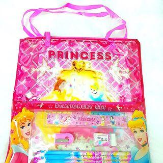 Disney Princess 5 In 1 Stationary Bag  Theme Party Doorgift