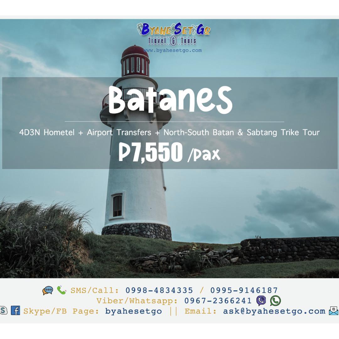 4D3N Batanes Tour Package