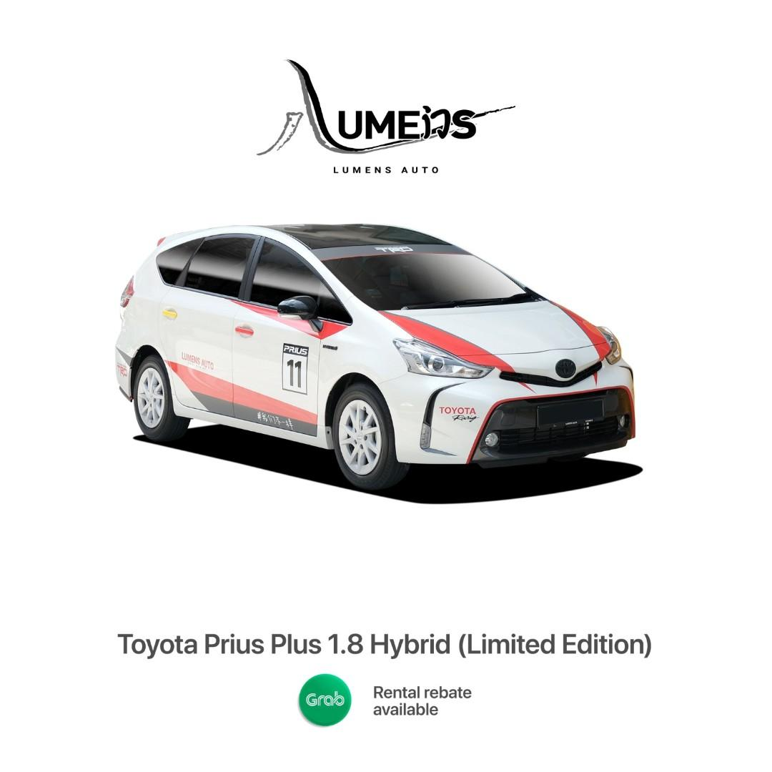 5 Units ONLY!! Brand New Toyota Prius Plus (MPV) - Car Rental for Private Hire/Grab use