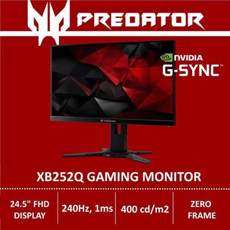 Acer Predator XB252Q 240Hz 1ms Gaming Monitor, Electronics