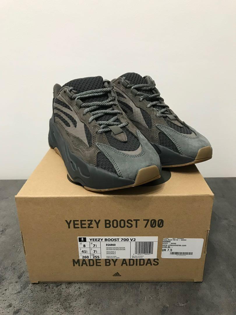 Adidas Yeezy 700 Geode, Men's Fashion