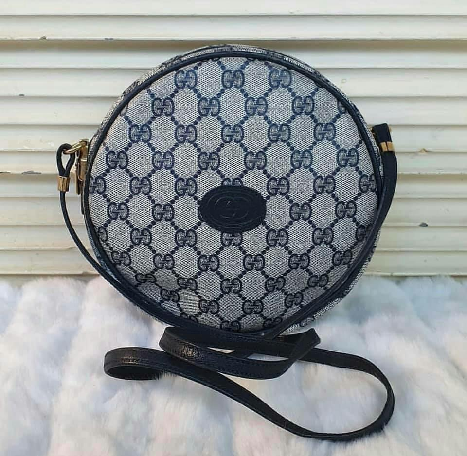 05da8a964 💯authentic Gucci Canteen Round sling bag on Carousell