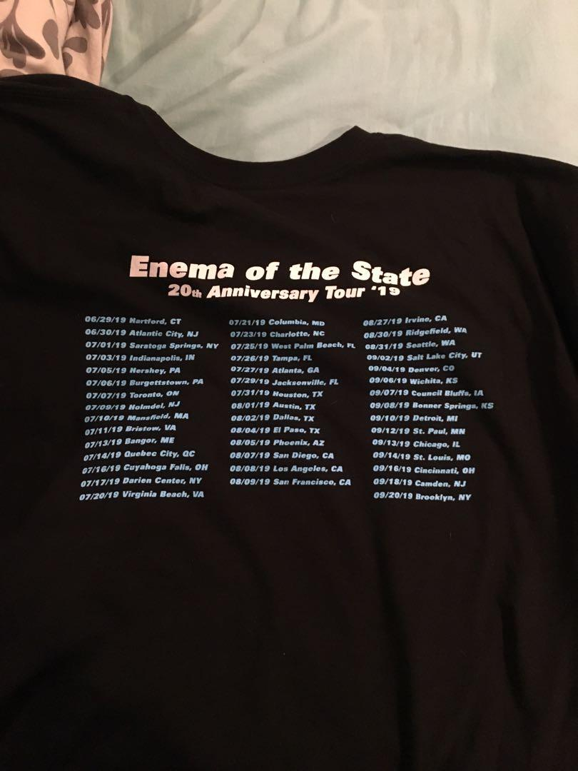 Blink 182 Enema of the State 20th Anniversary T-Shirt