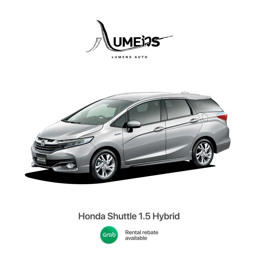 BRAND NEW HONDA SHUTTLE HYBRID Eligible for Grab / PHV / Personal Use
