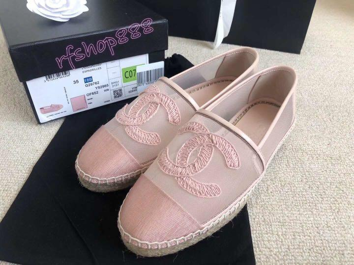 Chanel - 2019 Spring-Summer collection - Espadrille (Pink)
