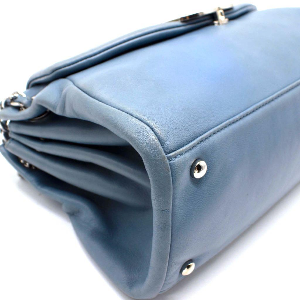 CHANEL Sensual CC Accordion Flap Bag Lambskin Large