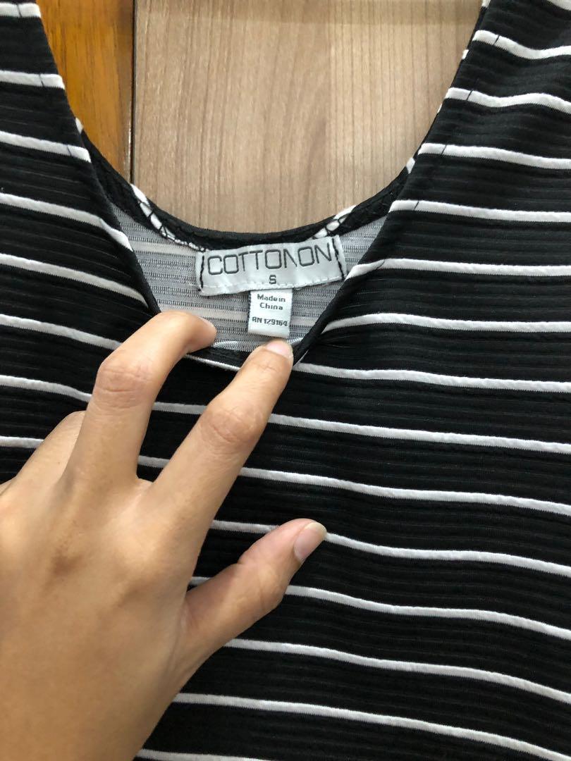 COTTON ON Mididress Mini Dress stripped