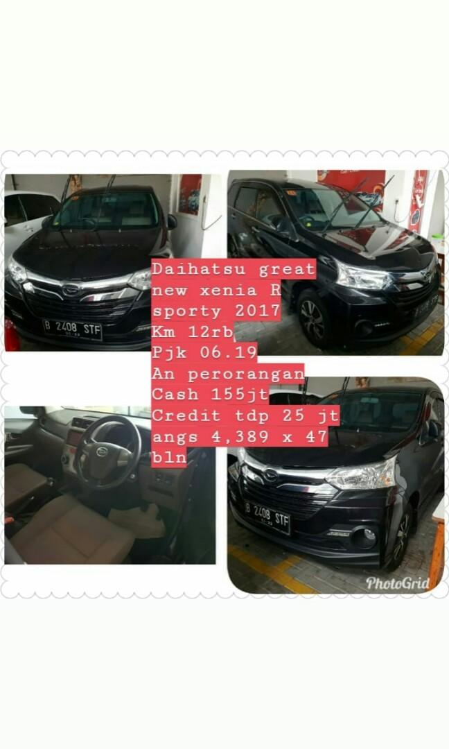daihatsu great new xenia R sporty 2017