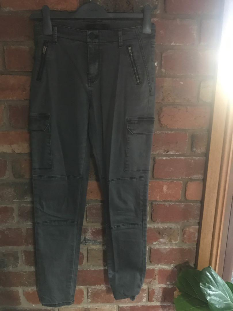 Decjuba Cargo Skinny Leg Pants
