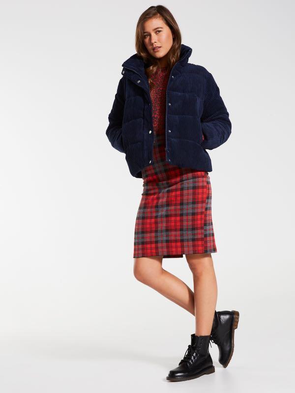 Dotti Cord Puffer Jacket