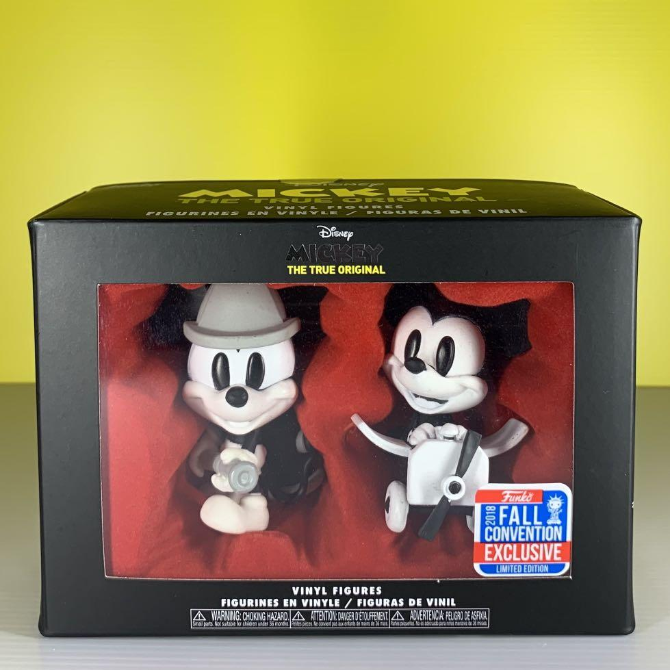 Funko Pop! Fall Convention Exclusive 2018 Fireman Mickey & Plane Mickey (2- Pack)
