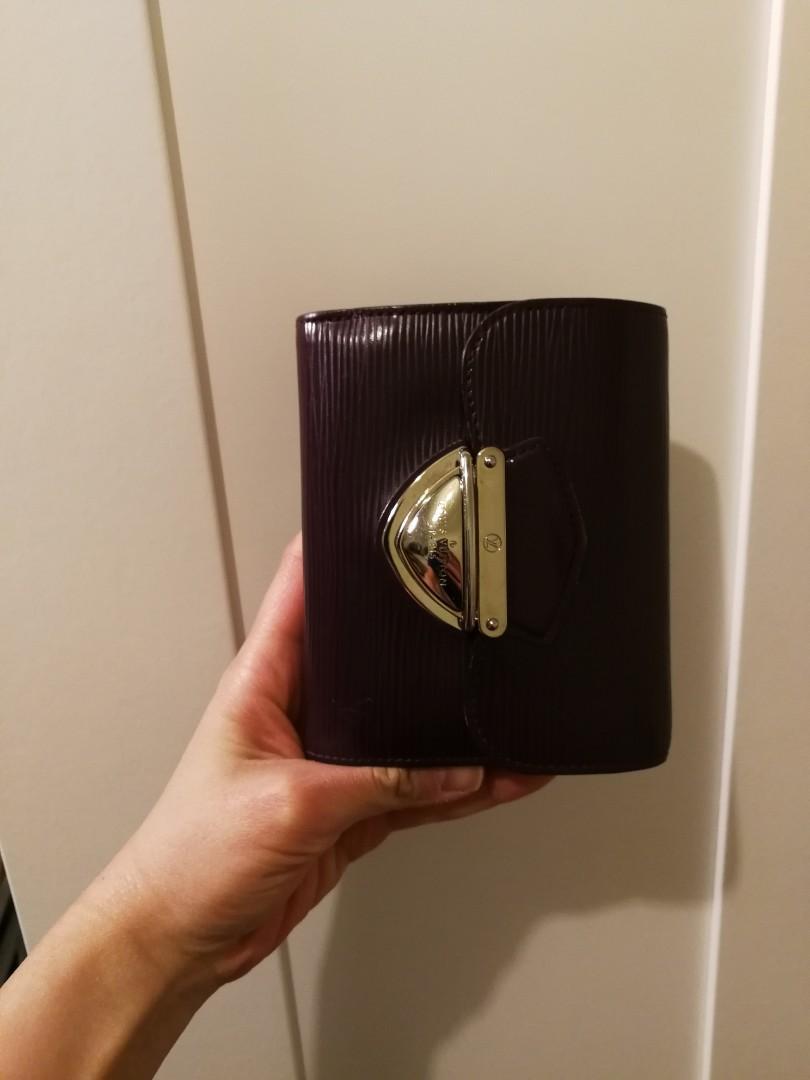 Genuine Louis Vuitton leather koala trifold wallet