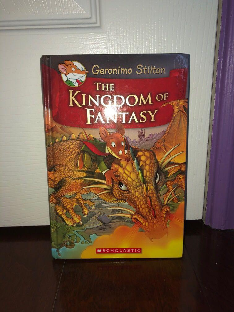 Geronimo Stilton- Kingdom of Fantasy series HARDCOVER