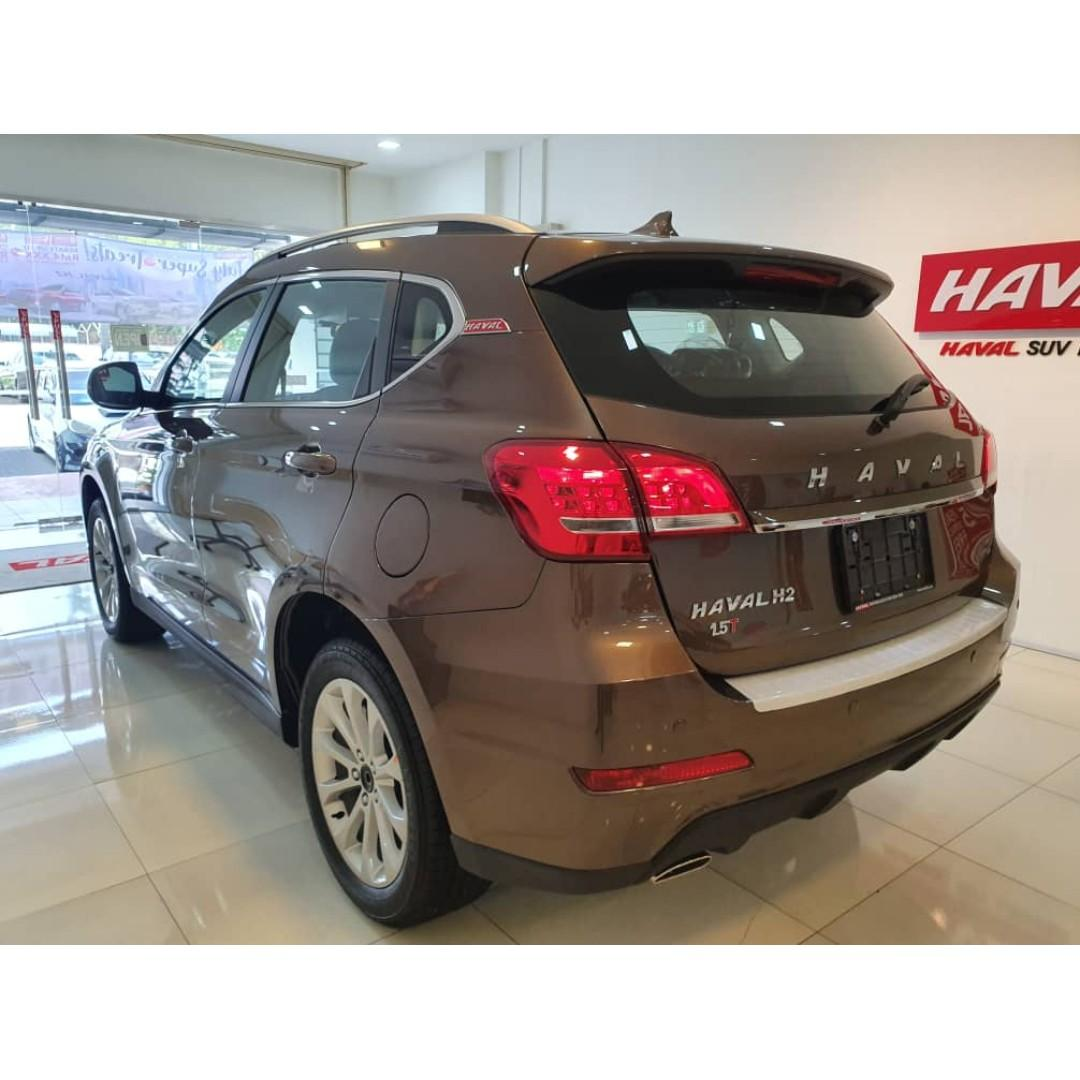 HAVAL H2 1.5VVTI TURBO SUV (8YEARS UNLIMITED MILEAGE WARRANTY & 5YEARS FREE SERVICE **INCLUDE LABOUR N PART)