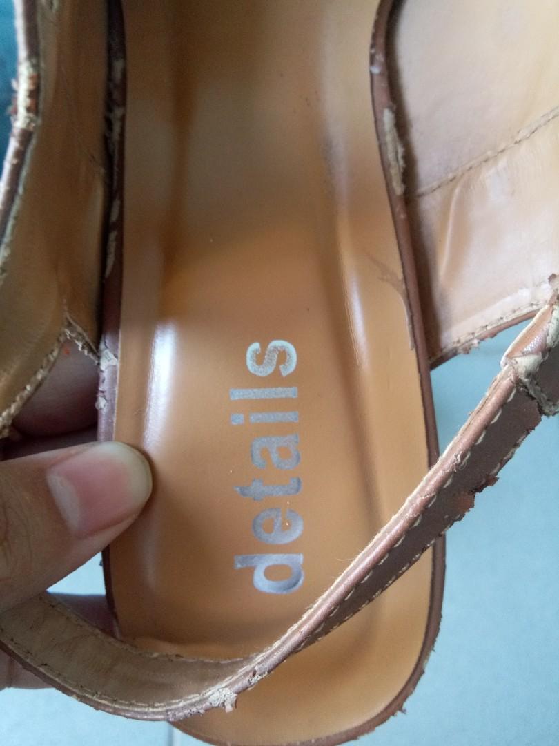 Heels details
