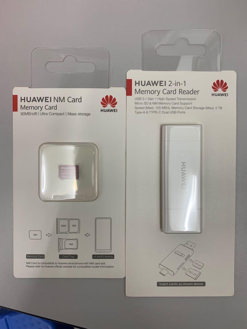 Huawei 128GB Nano Memory Card & 2-in-1 Reader