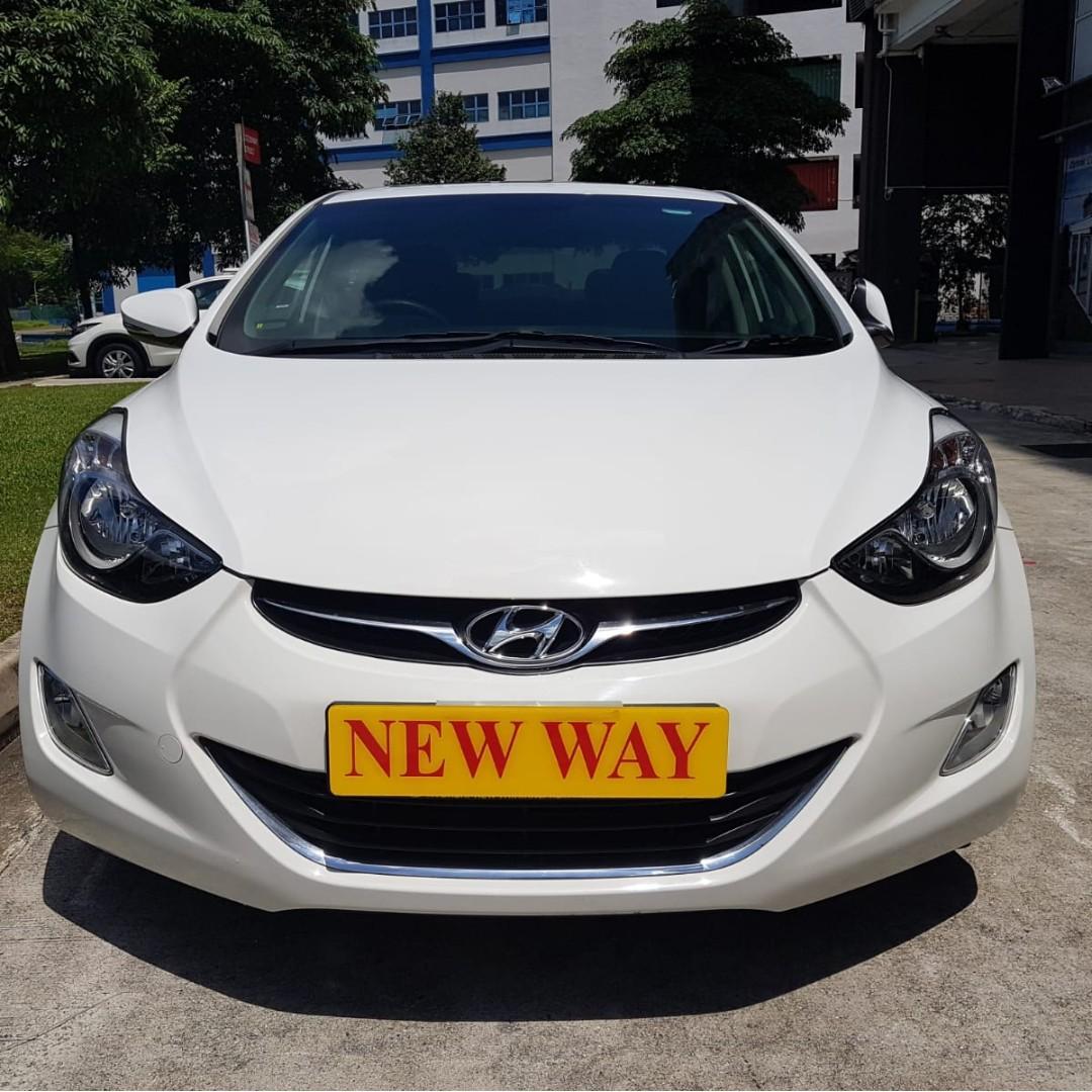Hyundai Elantra 1.6 GLS Elite Auto
