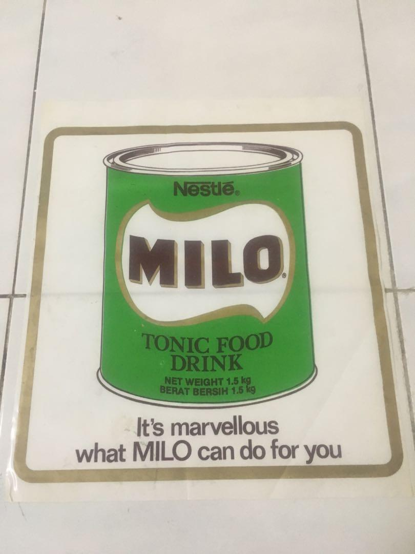 Iklan Milo Antiques Vintage Collectibles On Carousell