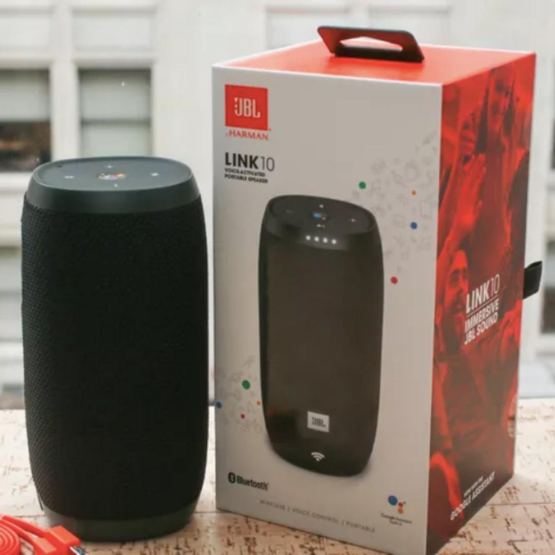 JBL Link 10 Voice-activated portable speaker, Electronics