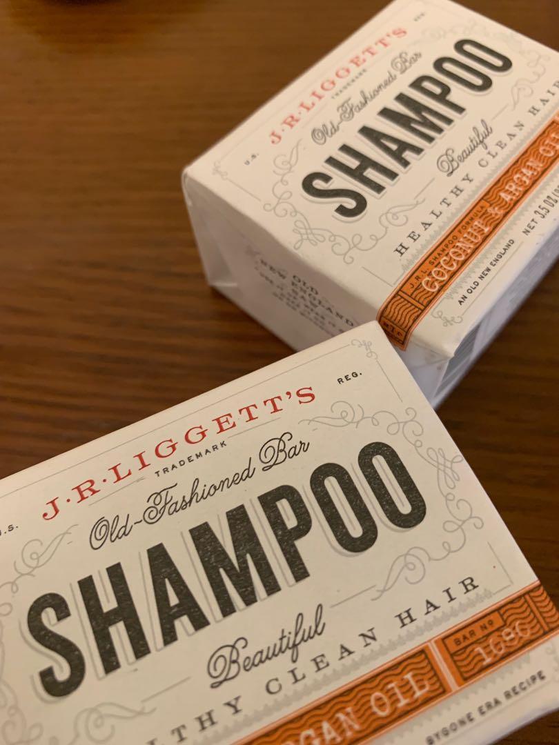 J.R. Liggett's 初級椰油堅果油洗髮皂洗頭皂 天然 j.r. liggett's
