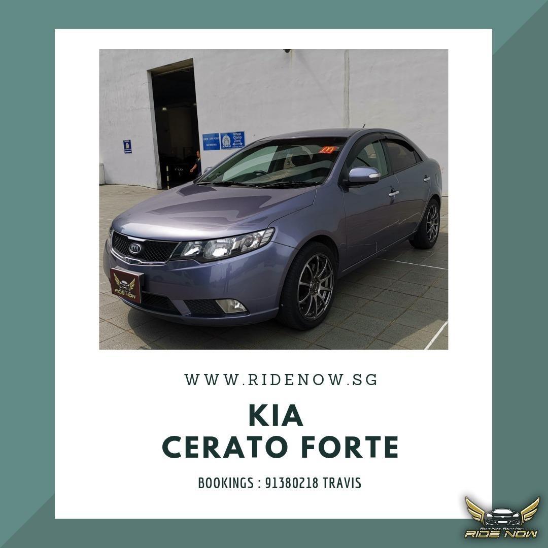 Kia Cerato Forte 1.6A Sleek Sedan with Spacious Backseat for good comfort
